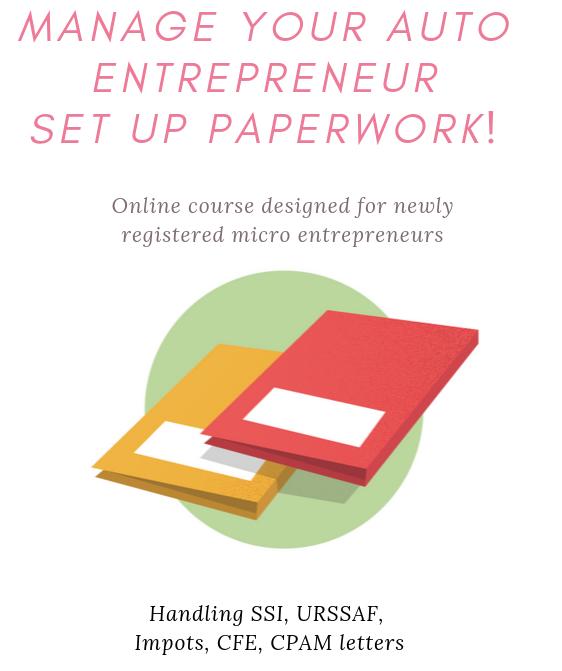 Manage your auto entrepreneur set up paperwork