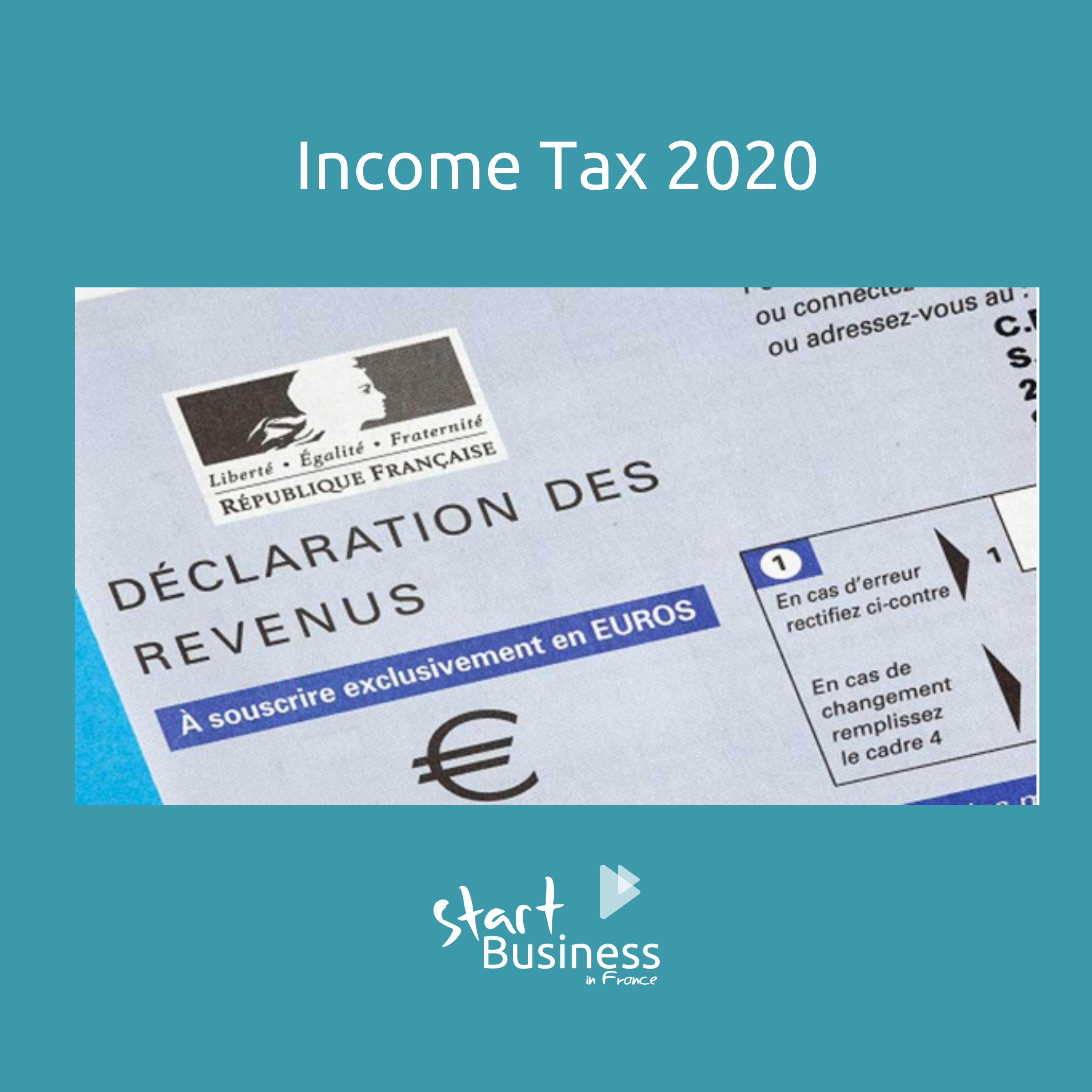 Getting ready for your 2020 French income tax declaration