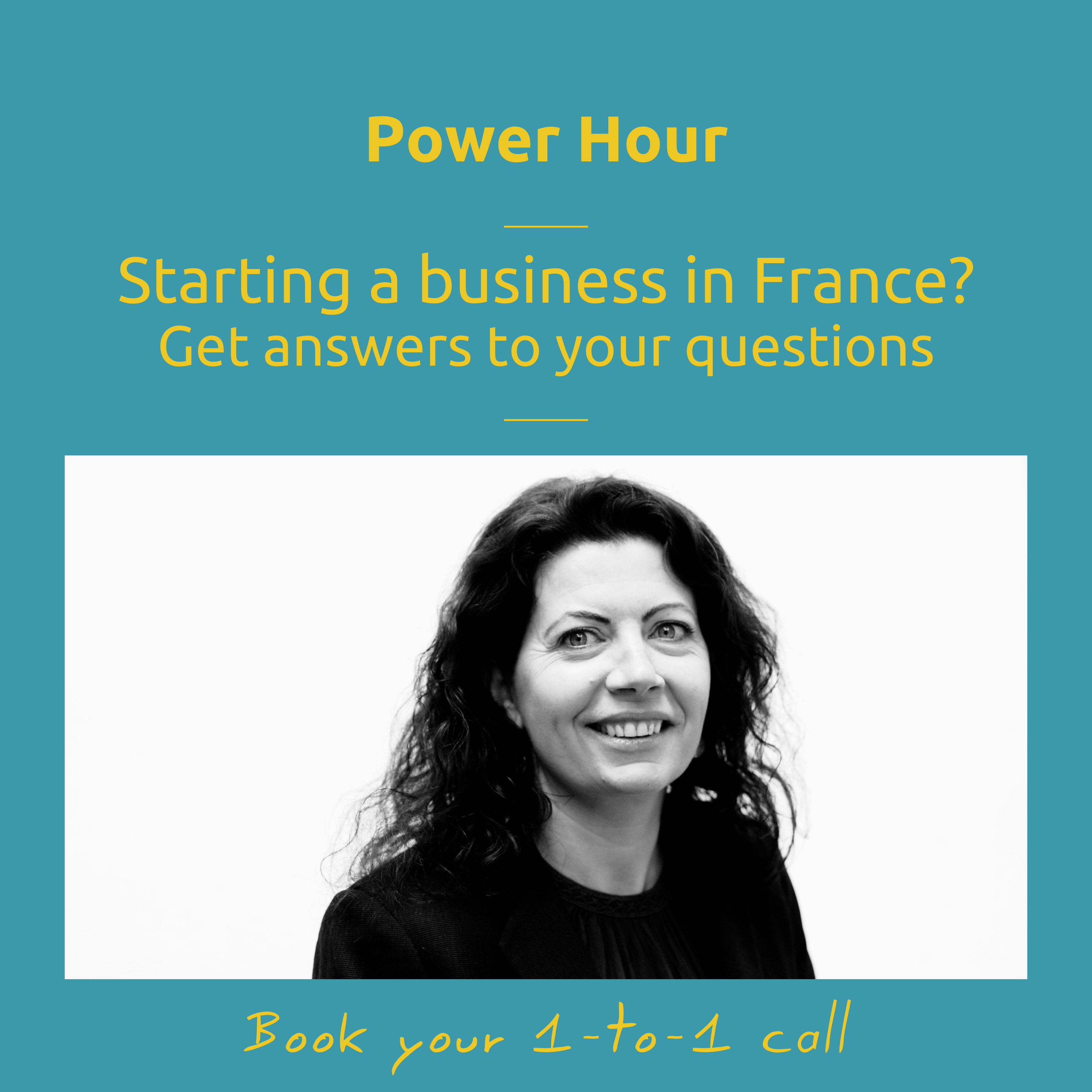 Get some clarity on your French business project with the Power hour